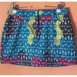 Colorful Print Skirt